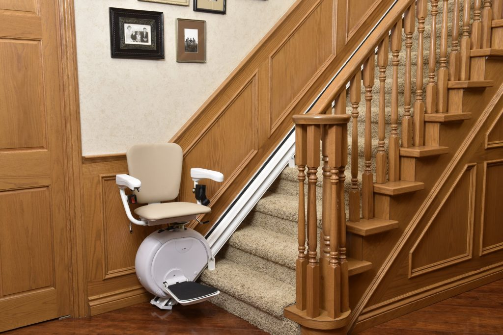 narrow stair lift